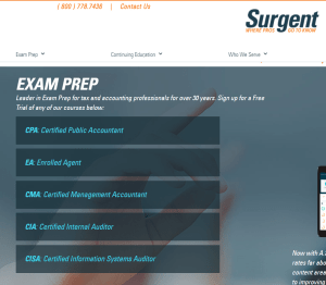 Surgent- Exam Preparation