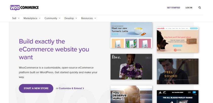 Thrivecart vs WooCommerce - WooCommerce Homepage