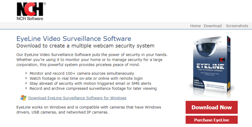 EyeLine Video Surveillance Software