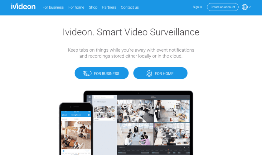 iVideon Smart Video Surveillance