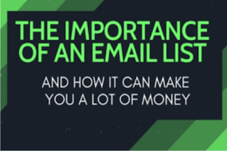 IMPORTANCE OF AN EMAIL LIST: Why You Must Build Email List