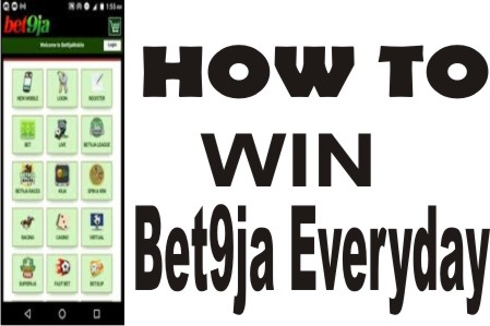 HOW TO WIN BET9JA EVERYDAY AND MAKE 100% PROFIT