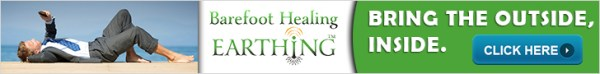 Earthing bring the outside inside with Barefoothealing