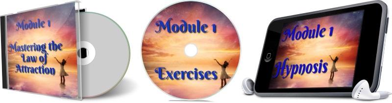 11 Days To Manifestation Mastery Program + 5 Free Bonuses  Image of module 1 combined