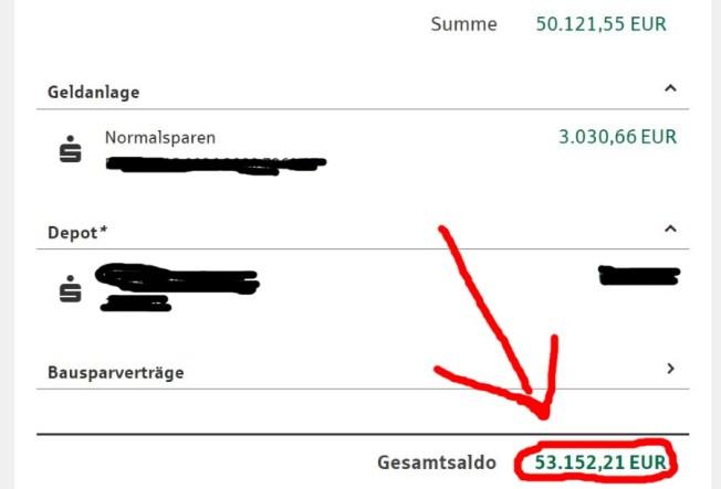 11 Days To Manifestation Mastery Program + 5 Free Bonuses  Image of bank account german statement