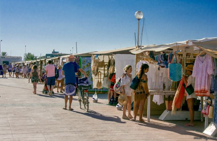 Mercatino a La Savina - Formentera