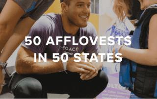 50 Afflovests in 50 states