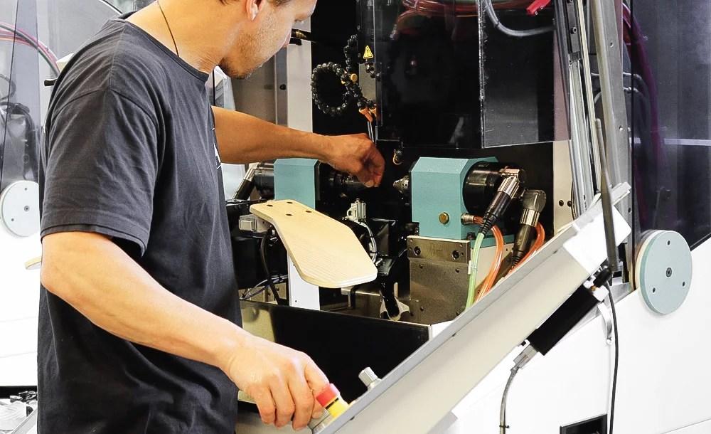 job gear hobbing swiss watch affolter geartrain