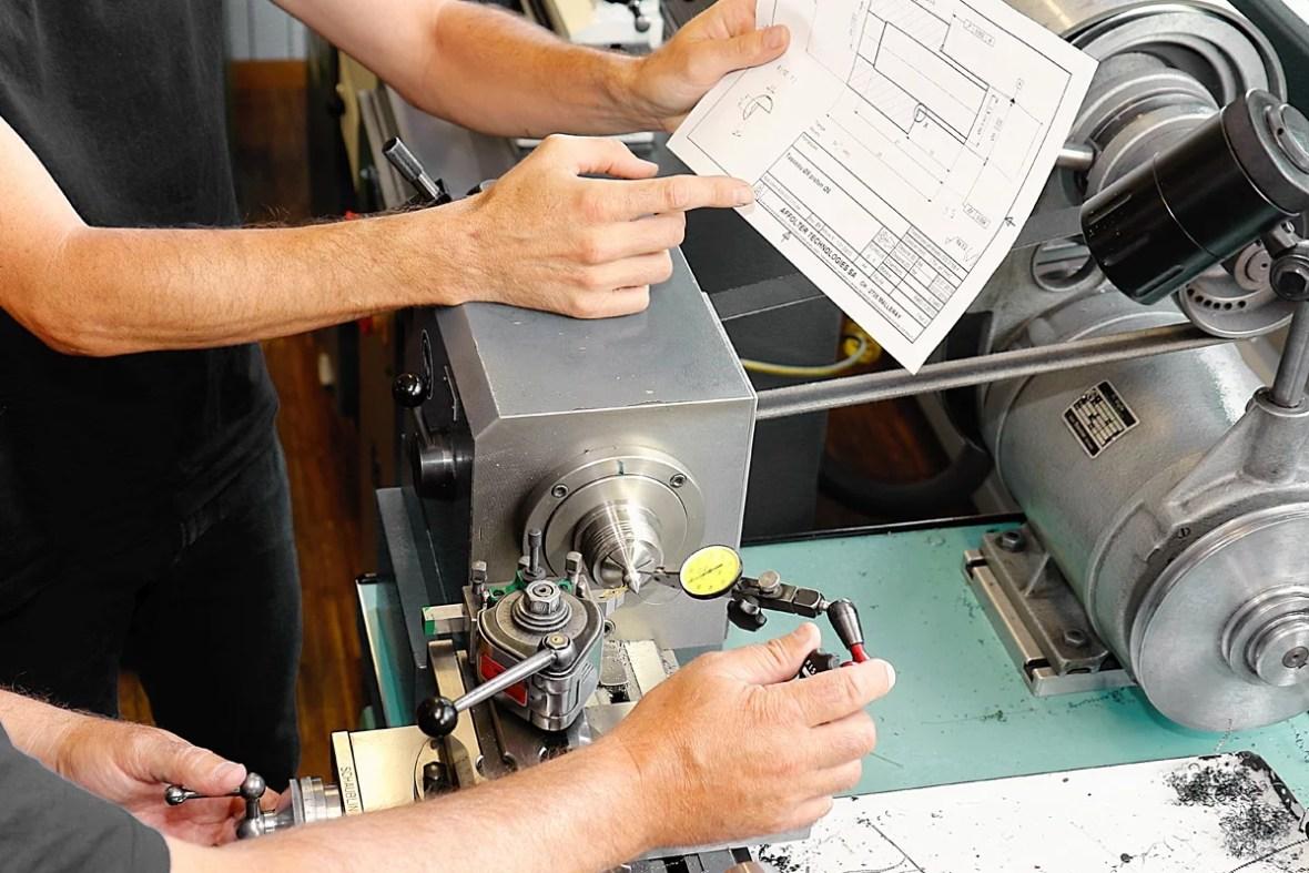 affolter training production mechanic