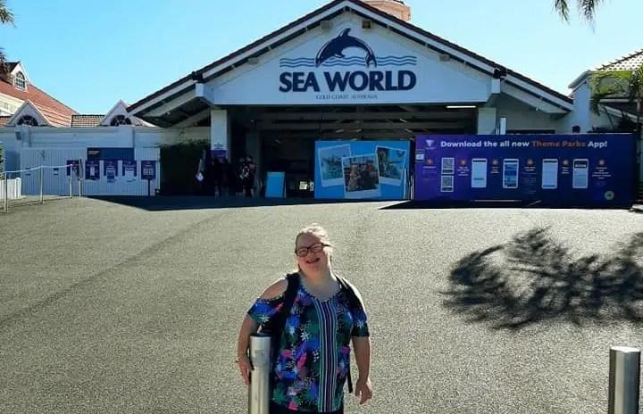 Fin-tastic day at Seaworld