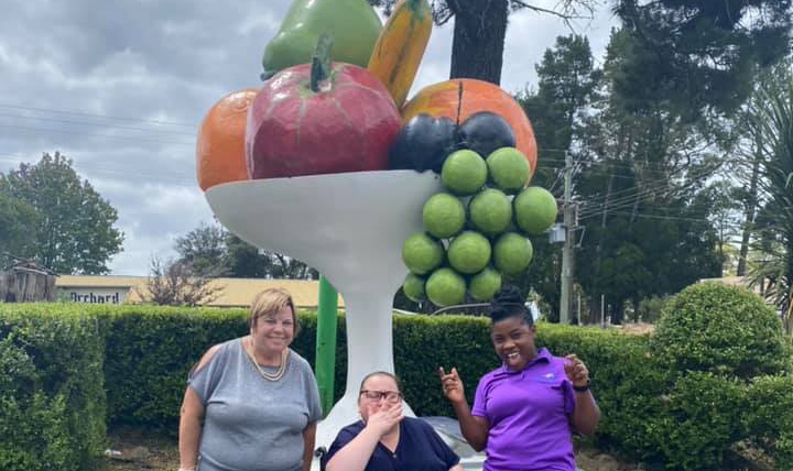 An apple a day for St Mary's Respite