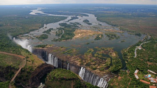 Victoria Falls - Largest waterfall in the world
