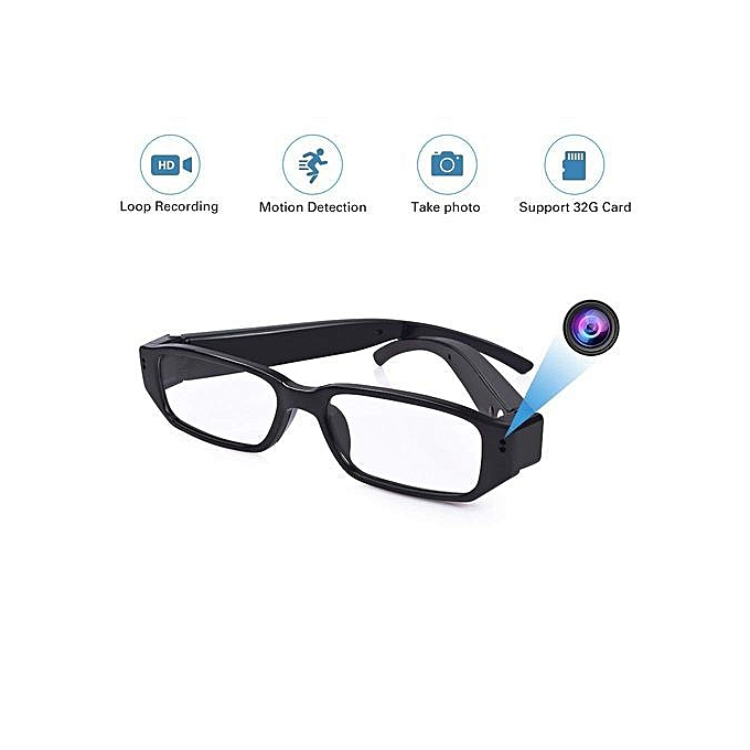 Wi-Fi Hidden Camera Glasses 1080P Full HD Spy Camera Motion Detection  Activated Real-time Video Remotely APP Viewing – Affordable Deals Shopping