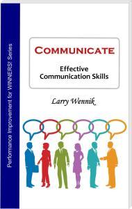 Book cover - Communicate