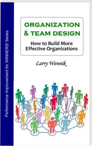 Book cover - Organization & Team Design