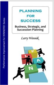 Book cover - Planning for Success