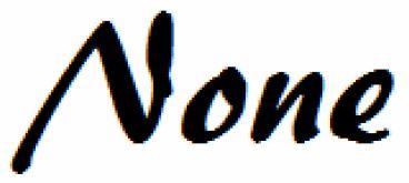 None take singular or plural verb