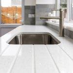 Light Coloured Quartz Worktops White Granite Surfaces