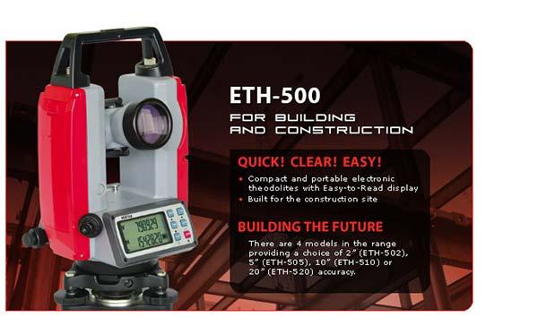 Pentax ETH-500, Theodolite