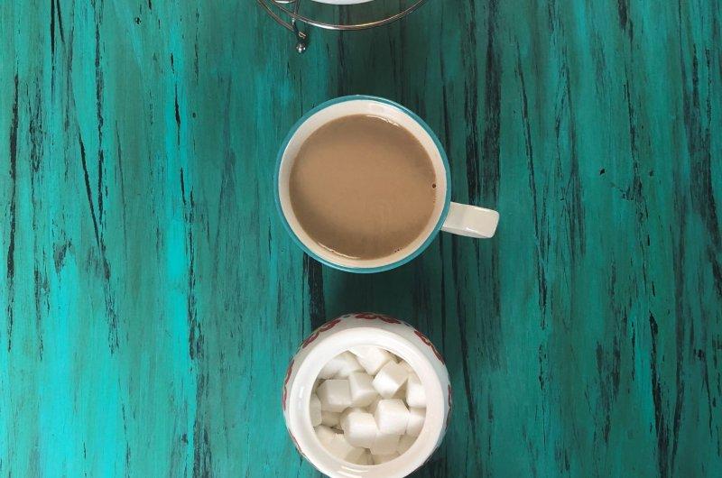 Sheer Chai Afghan (Cardamom Tea with milk)