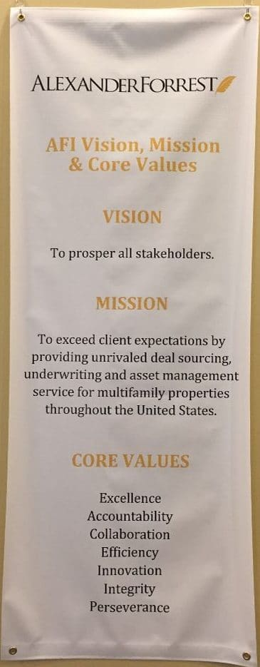 Vision, Mission & Core Values