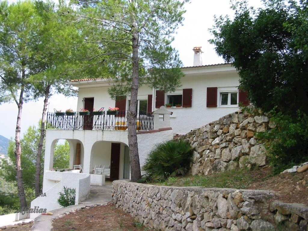 Garden view of House
