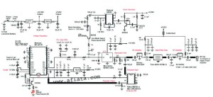 Gps Vehicle Tracking | Electronic Circuit Diagram and Layout