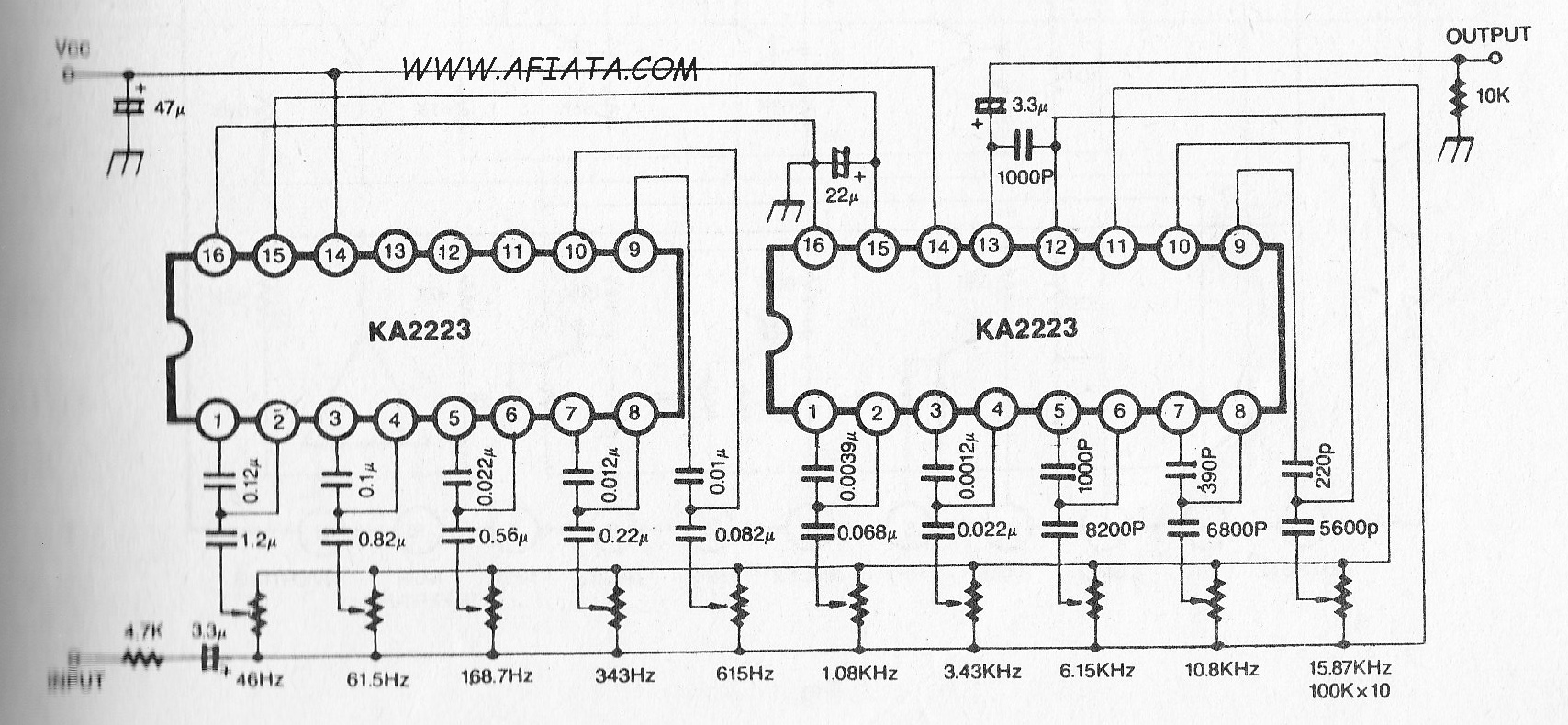 5 Band Audio Graphic Equalizer