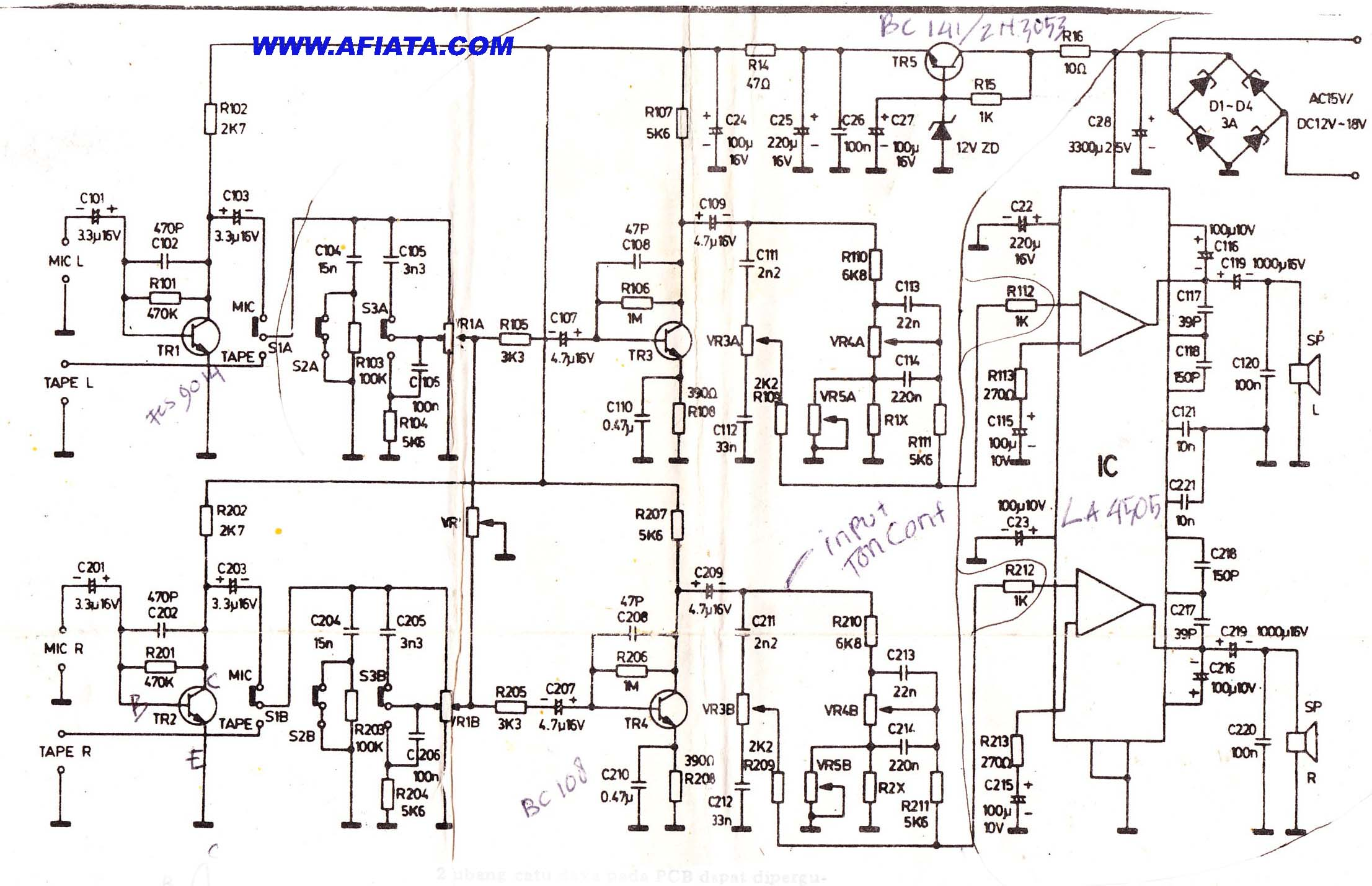 Audio Amplifier