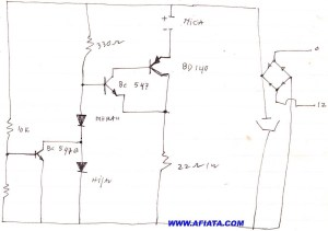 Making Charger Battery | Electronic Circuit Diagram and Layout