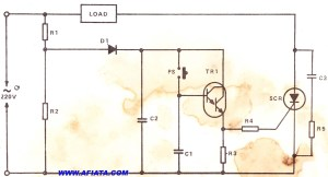 SCR circuit | Electronic Circuit Diagram and Layout
