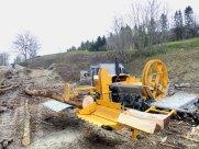 Roto 66 G09 D105 - avec grume de 15 m de long