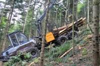 Treuil monté sur porteur Logset 4F