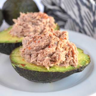 Tuna Stuffed Avocado