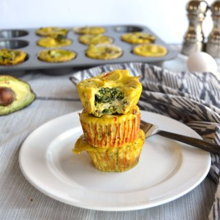 Veggie Stuffed Egg Muffin