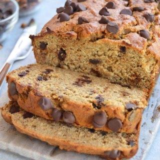 Healthier Chocolate Chip Banana Bread