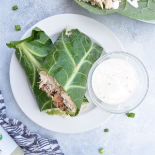 BLT Collard Wrap