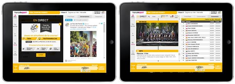 Tour de France : Visiware gamifie la Grande Boucle