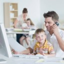 أفضل أفكار العمل من المنزل للأبوين