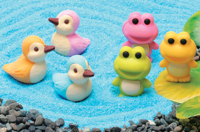 japanese-erasers-ducks-and-frogs