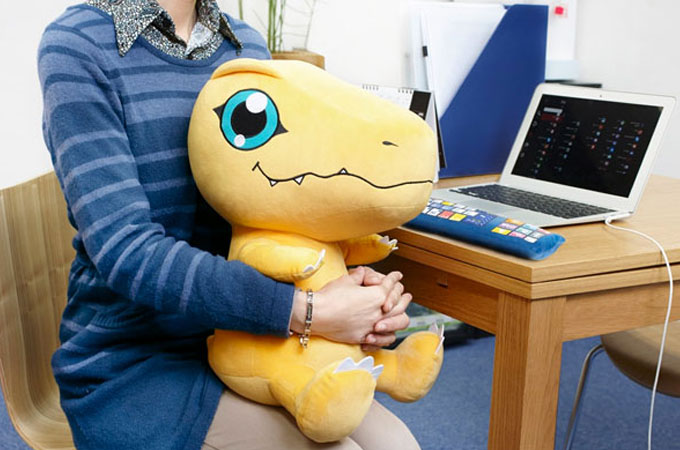 Cool and practical – Pc cushion Japan