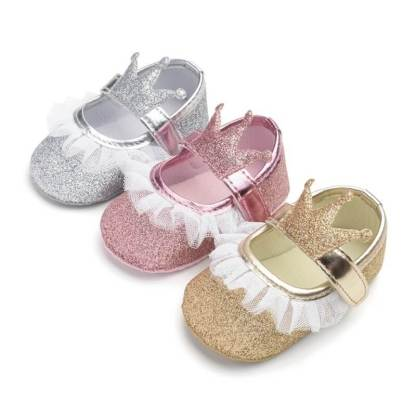 Princess-Baby-Crown-Shoes-First-Walkers