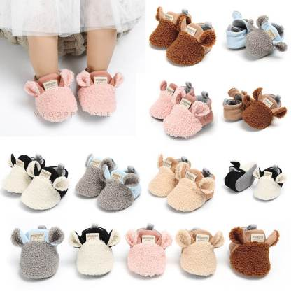 Toddler-Girl-snow-Boots-Shoes-Newborn-Baby-Autumn-Winter-cotton-Warm