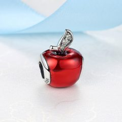 Pandora Red Apple Charm | Material 925 Sterling Silver