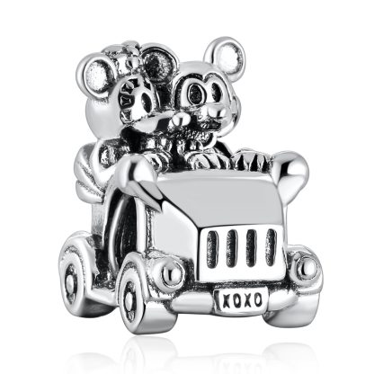 Pandora Mickey and Minnie Car Charm | Material 925 Sterling Silver