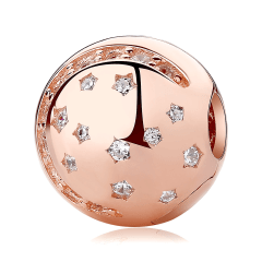 Pandora Moon and Stars Bead | Material 925 Sterling Silver