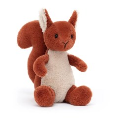 Jellycat Pipsy Squirrel Teddy Plush