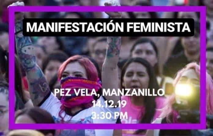 feminista 696x447 - Manifestación Feminista en Manzanillo este sábado 14 de diciembre