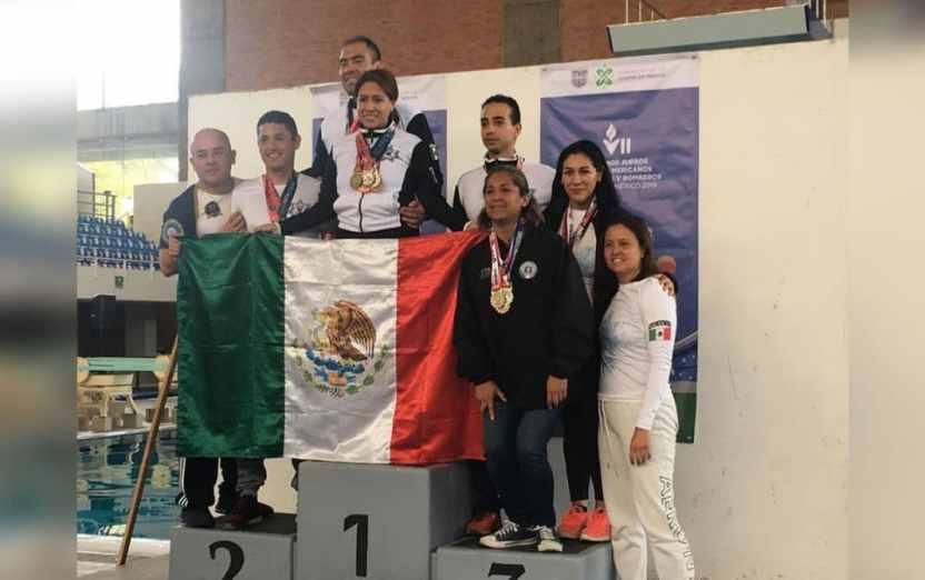 medallas tarcila 04 1068x670 - Viridiana obtiene plata y bronce en Juegos Latinoamericanos de Policías y Bomberos