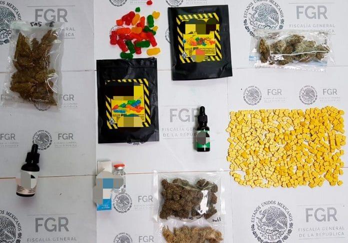 pastillas28 696x487 - FGR asegura 70 mil pastillas de diferentes sustancias